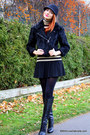Black-gucci-boots-black-h-m-hat-black-cut25-jacket-tan-club-monaco-top