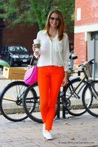 Juicy Couture pants - kate spade bag - 31 Phillip Lim sunglasses