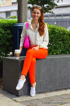 kate spade purse - Juicy Couture jeans - Ray Ban sunglasses - Club Monaco blouse