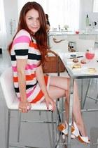 H&M dress - Zac Posen bag - YSL ring - Fendi sandals