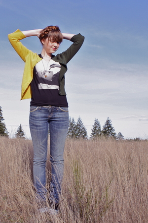 Yellow-neneee-cardigan-black-brixton-shirt-blue-current-elliot-jeans-black
