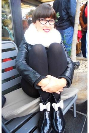 Zara jacket - D&G glasses