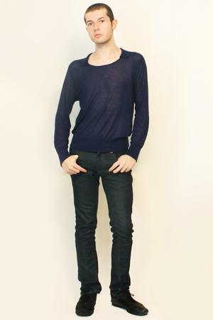 Zara sweater - Zara jeans - shoes