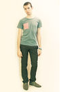 Green-t-shirt-gray-zara-pants-gray-h-m-shoes-silver-topman-bracelets-gre