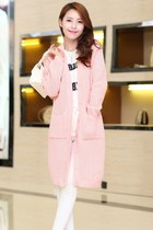 Crocheted Loose Fit Korean Coat YRB0297