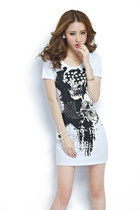 Summer cotton printed dress t-shirts ghl2140