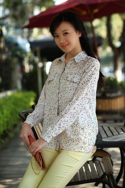 L G Modern blouse