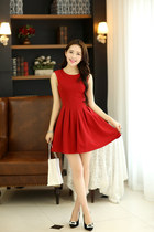 Red Chic Dress ghl0031