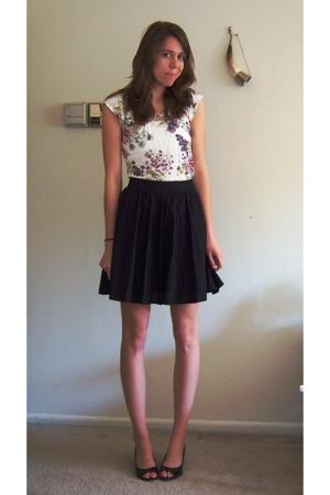 H&M shirt - Target skirt