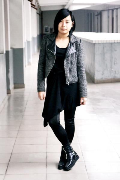 Black Dress With Black Jacket bpGFte
