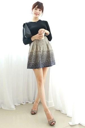 gradient a-line Dodostyle skirt