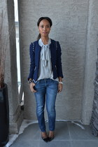 Zara jacket - Country Road blouse