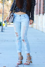 Navy-oversized-free-people-sweater-off-white-chain-chanel-bag