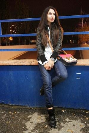 Topshop jeans - Stradivarius jacket - H&M shirt - New Yorker sneakers
