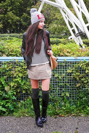 Lady Lita boots - Levis hat - Stradivarius jacket - Calzedonia socks