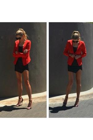 red ryder ZiiPORA blazer - black chloe ZiiPORA sunglasses