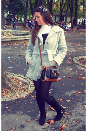 Mango coat - Zara bag - Accessorize accessories