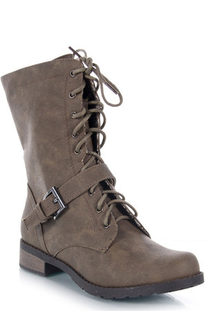 light brown Bamboo boots