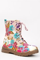 Nature Breeze GWEN-02HI Floral Midcalf Boots