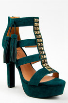 Green-qupid-luxe-sandals
