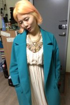 havepp dress - havepp coat - necklace