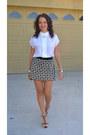 Vintage-blouse-vintage-skirt-guess-heels