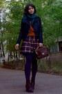 Black-leather-boots-black-faux-leather-jacket-burnt-orange-sweater