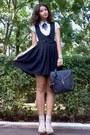 Off-white-striped-zero-shirt-black-satchel-purse-neutral-socks