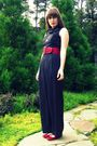 Black-vintage-pants-red-thrifted-belt-red-urban-outfitters-shoes-black-thr