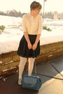 White-vintage-shirt-black-forever-21-skirt-white-target-tights-blue-urban-