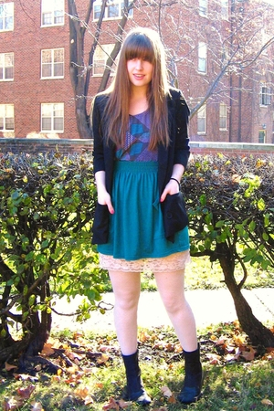 Urban Outfitters shirt - American Apparel skirt - camper boots - BB Dakota blaze
