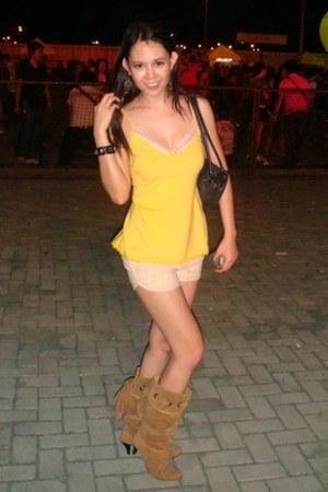camel Zara boots