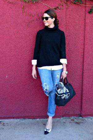 silver timex watch - boyfriend jeans Jessica Simpson jeans