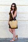 Pineapple-print-tjmaxx-dress-straw-tote-target-bag-target-sandals