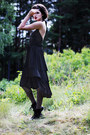 Black-army-vagabond-boots-black-johanna-vikman-dress-black-long-monki-blazer
