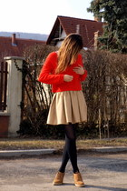 H&M jumper - Zara skirt - Zara wedges