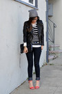 Forever-21-jeans-h-m-hat-leather-h-m-jacket-rebecca-minkoff-bag