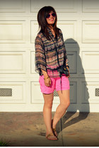 unknown top - H&M Kids shorts - Dolce Vita sandals