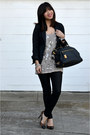 Black-h-m-blazer-prada-bag-faux-leather-forever-21-pants