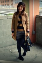 Prada bag - Boutique 9 shoes - H&M jacket - H&M sweater - f21 skirt