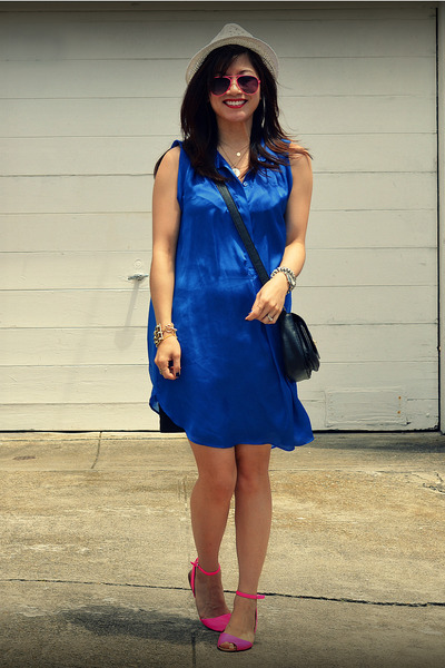 H&amp;M dress - H&amp;M hat - Zara sandals