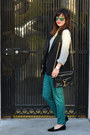 H-m-sweater-rebecca-minkoff-bag-h-m-vest-velvet-zara-loafers