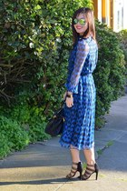 ADAM dress - Prada bag - Aldo sunglasses - Sole Society heels