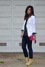 Forever-21-jeans-white-zara-blazer-star-print-h-m-kids-shirt-coach-purse