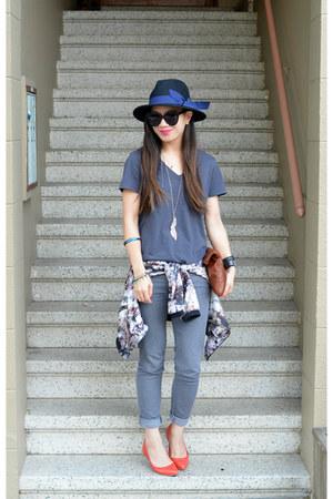 Forever 21 jeans - Forever 21 hat - MINUSEY jacket - Clare Vivier bag