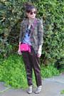 Camo-zara-jacket-coach-legacy-penny-purse-sole-society-heels