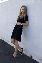 Isabel Marant dress - Acne Studios wedges - Daniel Wellington watch
