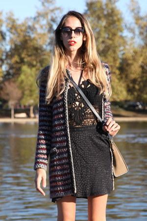 Isabel Marant sweater - lucia Super sunglasses - Isabel Marant bodysuit