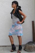 vest - Charlotte Russe shoes - vintage skirt - shirt
