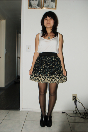 Forever21 shirt - Forever21 skirt - moms shoes